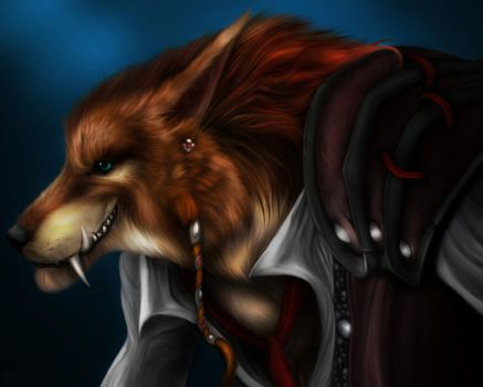 Thadian Mikash The Coywolf by MinstrelofMyths