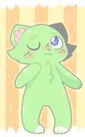 .:Art trade:. Minty cat by Nick-likes-toast