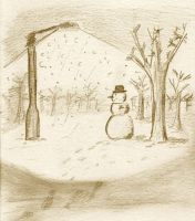 Winter scene I by autopolydidact