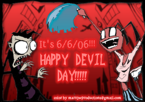 HAPPY DEVIL DAY by marr0w