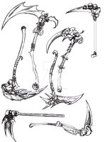 Darkness-only SCYTHES by Ascher-Malachi