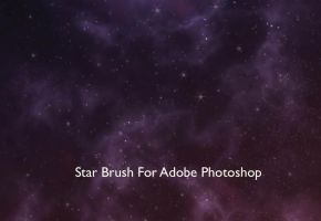 Star Brush For Photoshop by MuhammadRiza