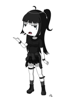 Goth Girl by JoTheWeirdo