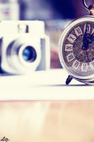 Old Clock. by LizAlasca
