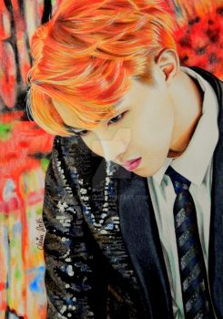 Jung Hoseok aka J Hope, BTS, Kpop by Mim78