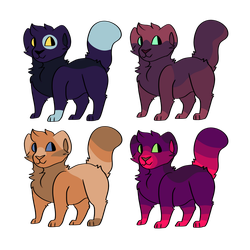 Free Adopts to a good home by coralcamo