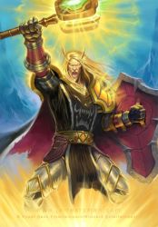 Blood Elf Holy Paladin by namesjames