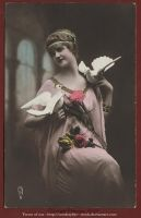Oldpostcard Model-antique1 by Arts-of-Cendrayliss
