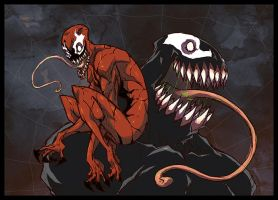 symbiotes by Anny-D