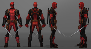 Future Fight - Deadpool by IshikaHiruma