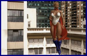 Ultimate Powergirl updated by almeidap