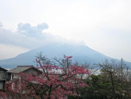 Sakurajima -2 by Lissou-photography