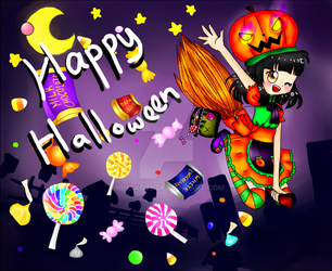Happy Halloween by Hinako29