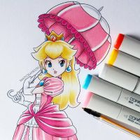 Princess Peach  by matyosandon