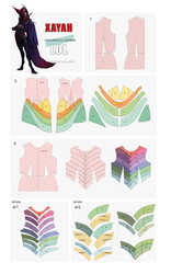 Xayah patterns | League of Legends by PatternCos