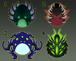 CLOSED Monster Dragon Eggs by Shaiger