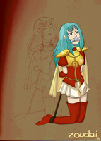 Fire Emblem 2009 series - Eirika by Zoudai