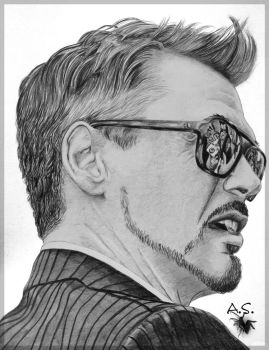 Robert Downey Jr. by wind-up5