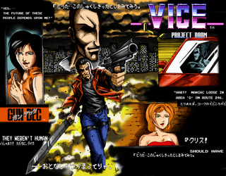 Gun Dec - VIce Projet Doom Tribute (Colored) by EmersonOvens
