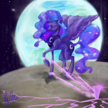 Lullay, Moon Princess by byannss
