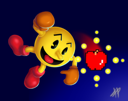 Pacman Smash by RoydGriffin