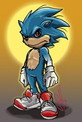 Sonic The Hedgehog by scottssketches