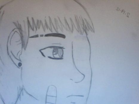 Meh, Punk England (Iggy) sketch by CaptainPrussia
