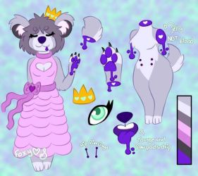 Trixe Princess-Reference sheet by Pinkwolfly