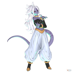 DBFZ - Android 21 (Evil) - 2nd Form by MrUncleBingo