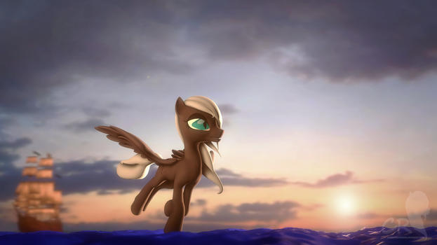 Flying through the horizons by RozasSoul