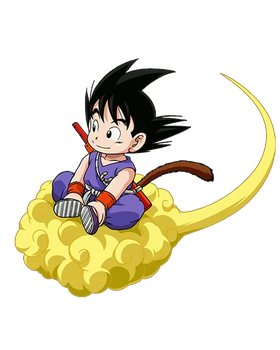 Render Goku nuvola Speedy by Poh2000