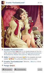 Selfie Fables | Cruella DeVil by SimonaBonafiniDA