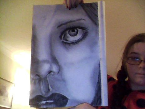 almost finished 1st charcoal drawing by elawden