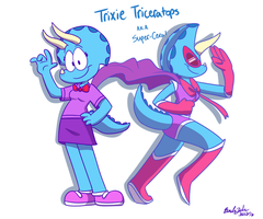Trixie the Hero by Jurassiczalar