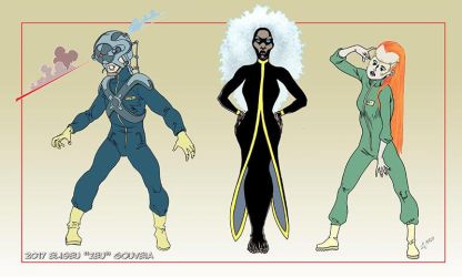 X-Men designs by EliseuGouveia