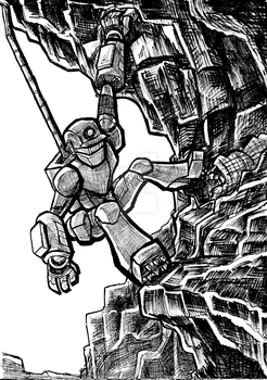 March of Robots: Climber by KokoCereal