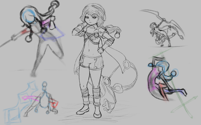 [Sketches] Nephryst Redesign by Voleno