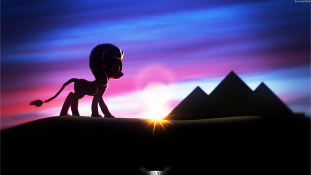 The Sphinx [SFM PONY] by Lux-The-Pegasus