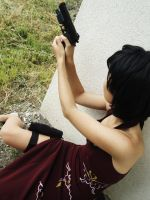 RE4 - Around the Corner by Hyokenseisou-Cosplay