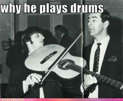 Why Ringo Plays Drums by RingoStarr911