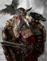 Odin-Son by fresco-child