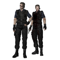 REUC: Wesker (S.T.A.R.S) fully poseable by UndeadMentor