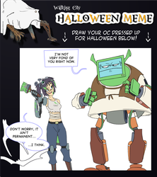 Walking City Halloween thingy by Zeurel