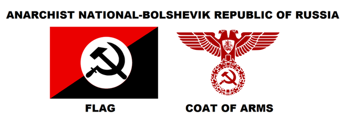 Anarchist National-Bolshevik Republic of Russia by 3D4D