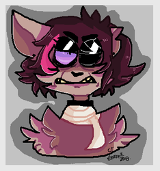 Furry oc redesign. (edGy) by FarbeMusik