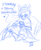 Streaming Furry cuteness or humans by temporaryWizard