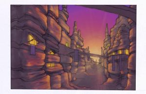 Hoodoo Village by agent-elf