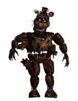 Nightmare Freddy full body *thank you image* by JoltGametravel