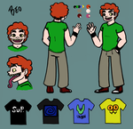 Beo Ref Sheet by LuckyNothin