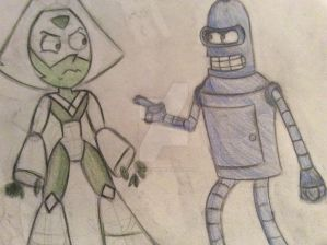 Moldy Life - Bender and Peridot (Cameo)